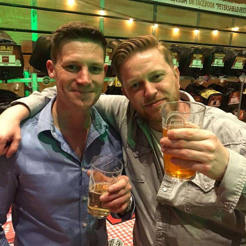 giles cleverley tarrant petersfield beer sponsors